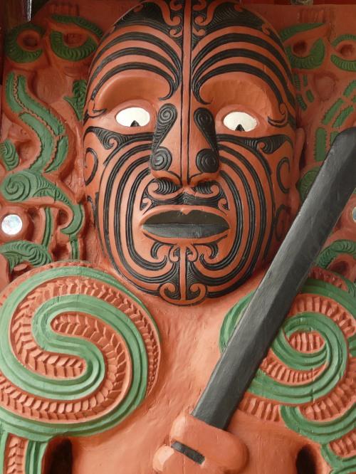 Ancestor figure, Waitangi
