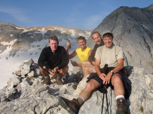 On the peak of the Petit Vignemale.