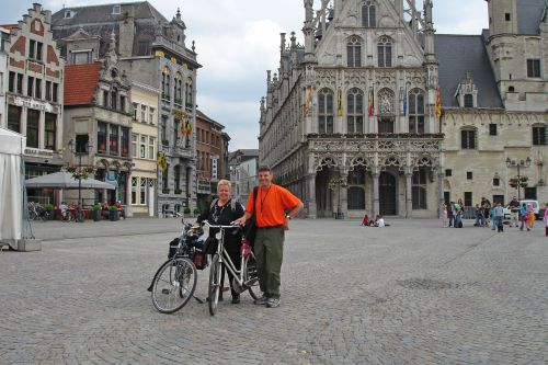 In Mechelen Town Square