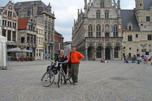 In Mechelen Town Square