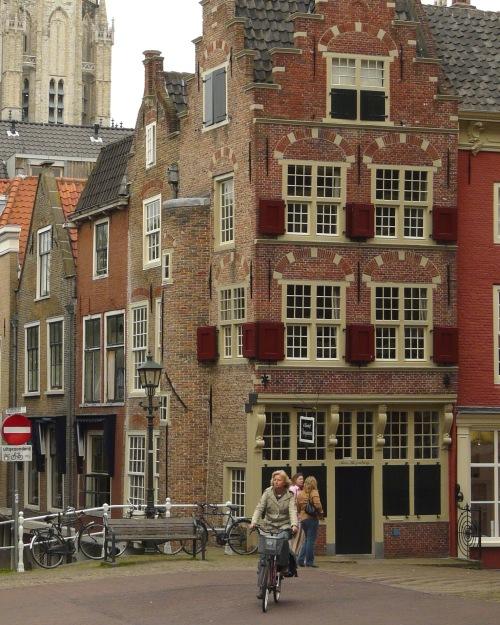 Little Street in Delft...