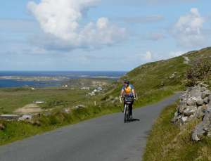 The Sky Road, Connemara (red)