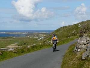 The Sky Road, Connemara (red)