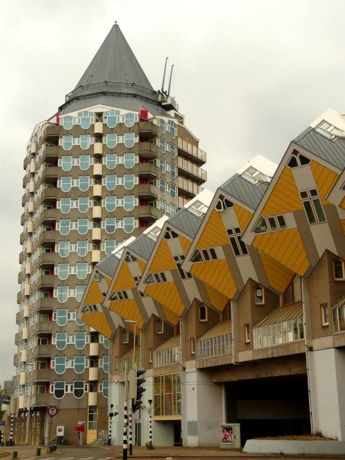 Cube Houses,Rotterdam