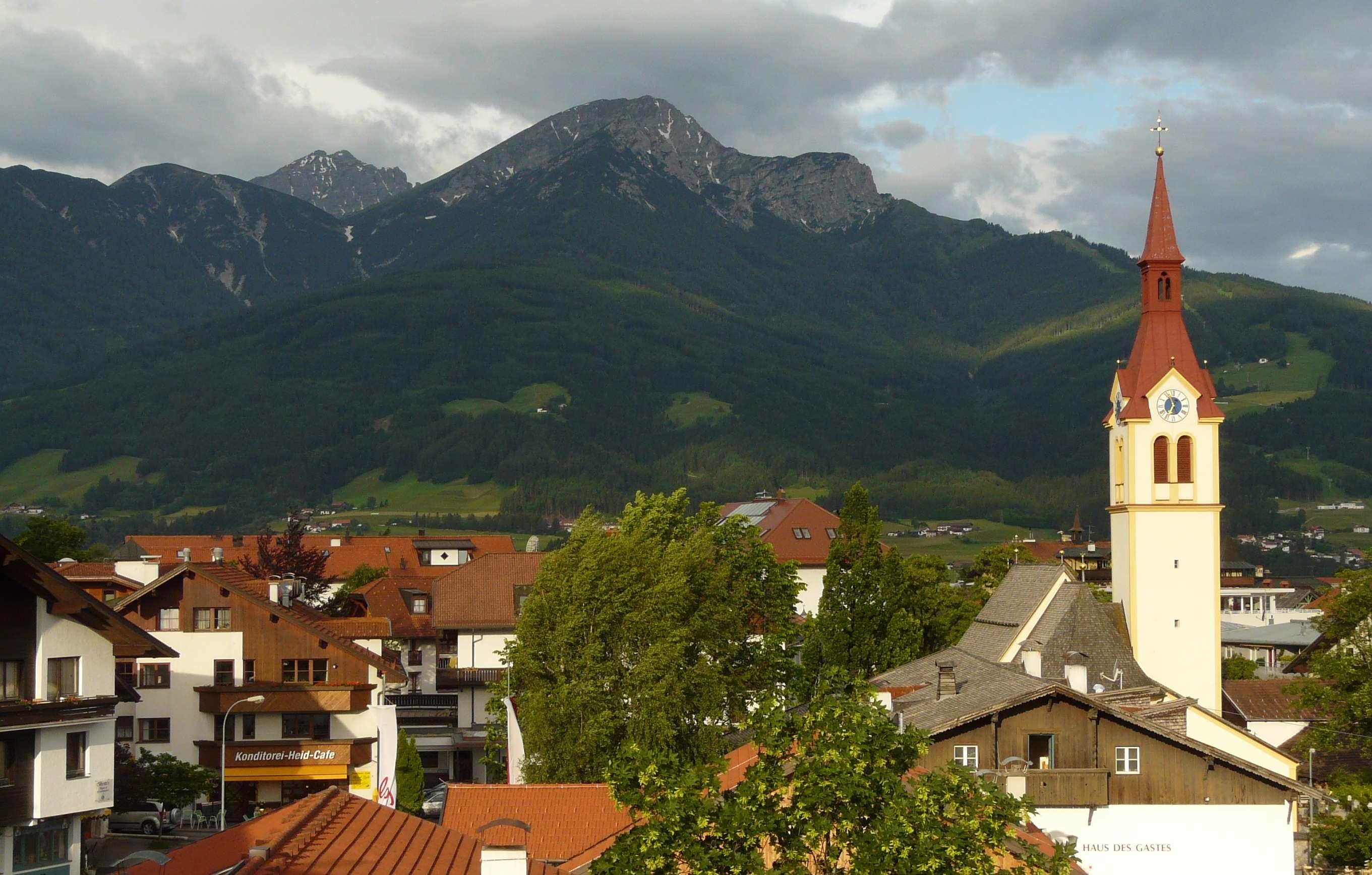 Igls village, Austrian Tyroll crop