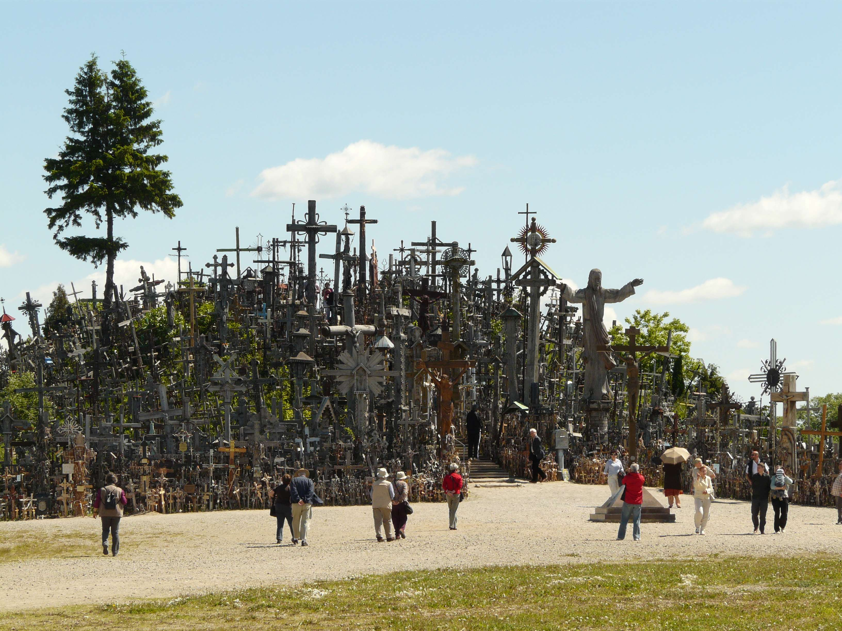 Hill of Crosses Siauliai Hill of Crosses – a Mecca in
