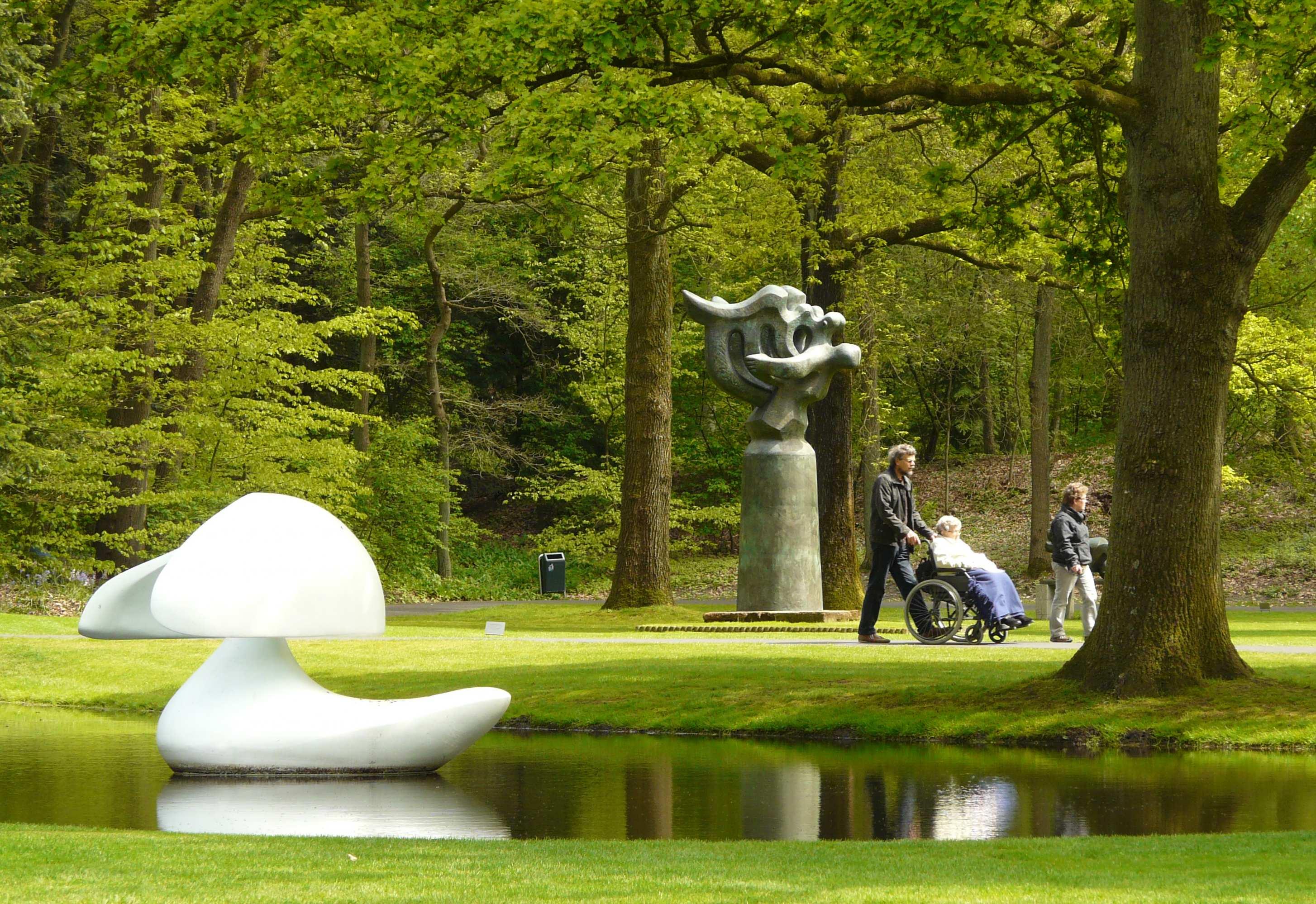Hoge Veluwe Netherlands Art Nature And Distant Gunfire