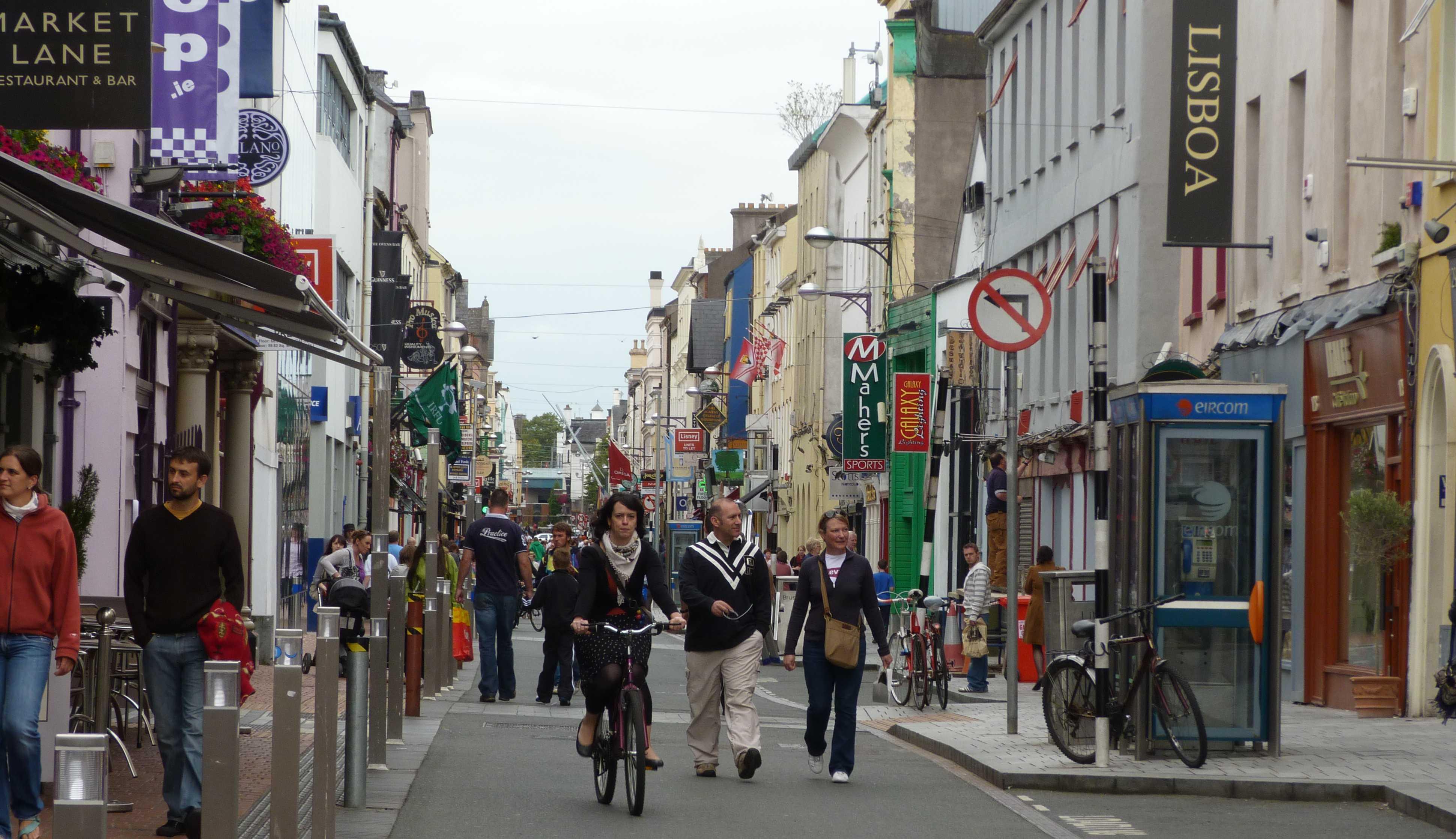 Cork'ta Alışveriş
