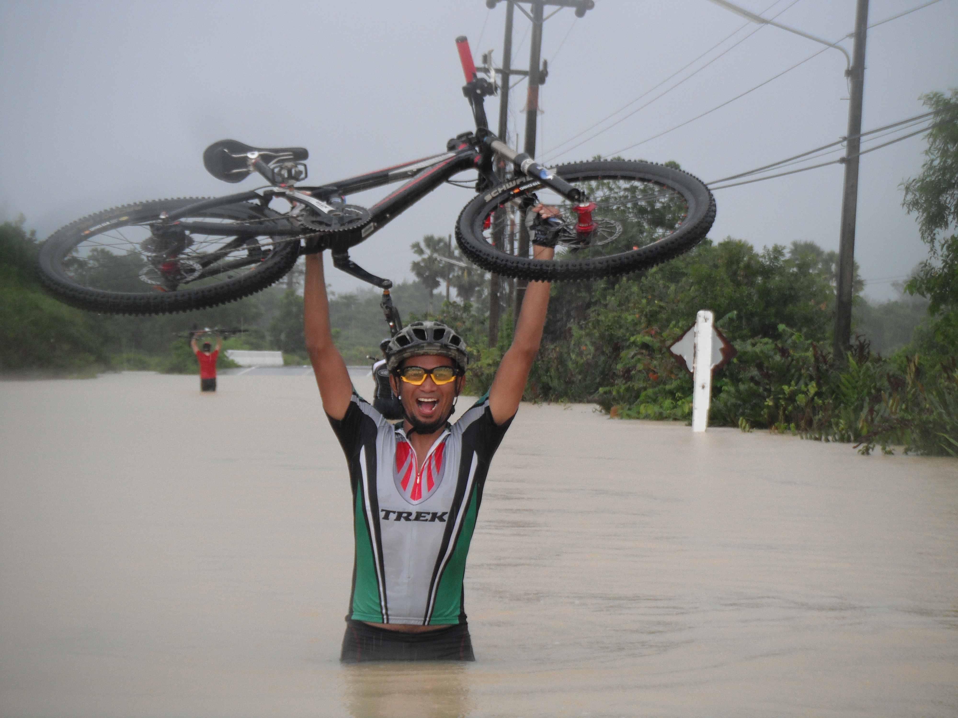 voda cyklista