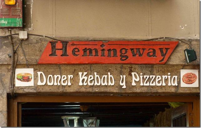Hemingway doner kebab