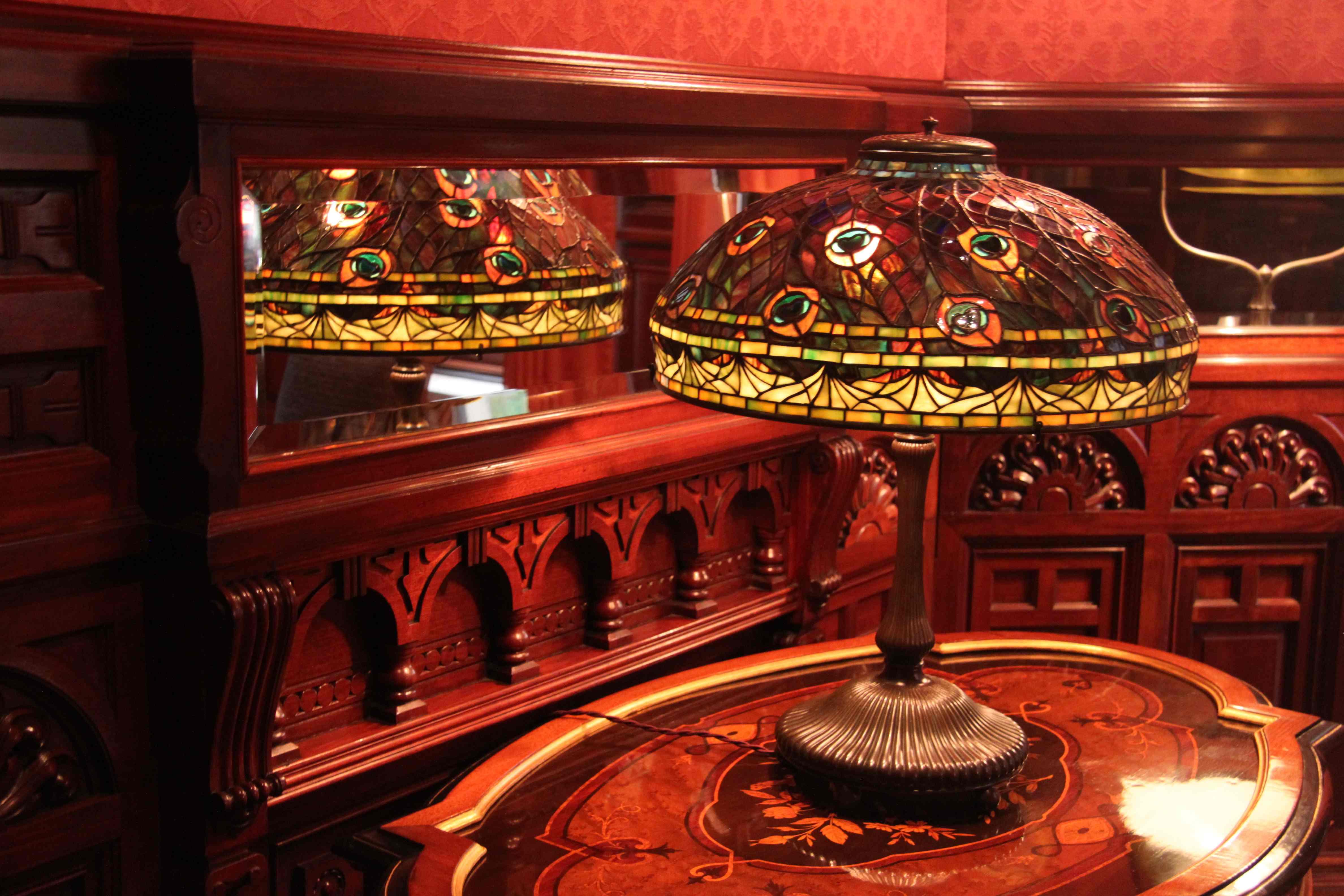 tiffany lamp. Black Bedroom Furniture Sets. Home Design Ideas