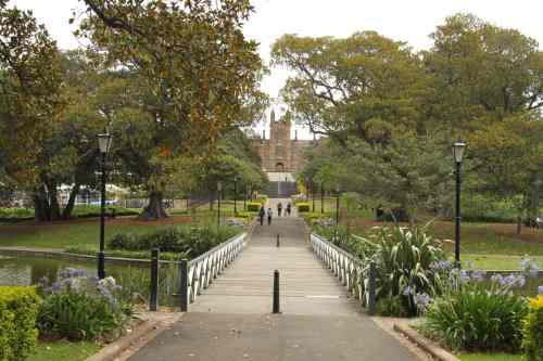 Victoria Park, with the University of Sydney behind it.