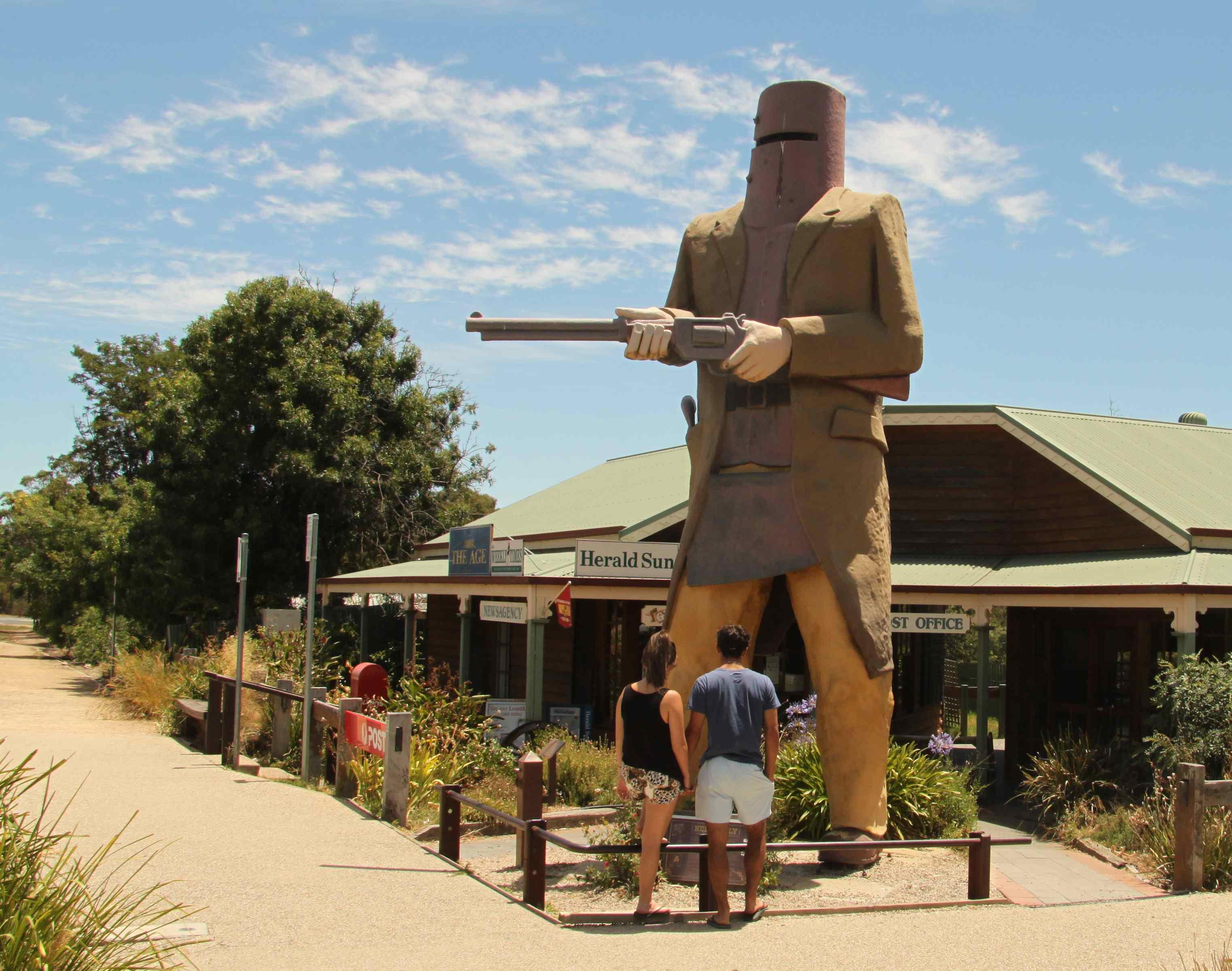 Big Ned Kelly de Ballarat