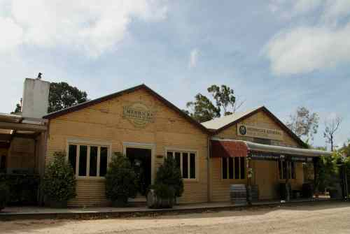Merricks General Store. Once a general store, now a restaurant and wine outlet.