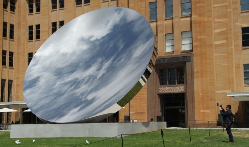 Sky Mirror (2006) It all depends on what it's reflecting.