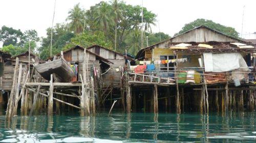 Jang Island fishermen's houses