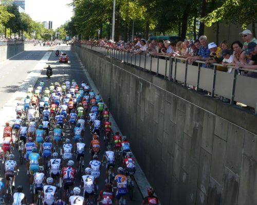 It's in Rotterdam, 2010, so yes, Lance is in there somewhere.
