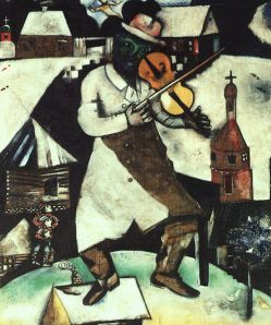 One of Marc's Chagall's finest. Image: Wikimedia Commons.