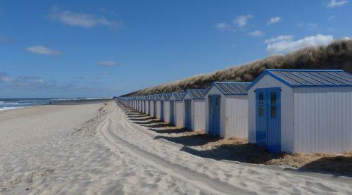 Not exactly beach weather at de Koog.