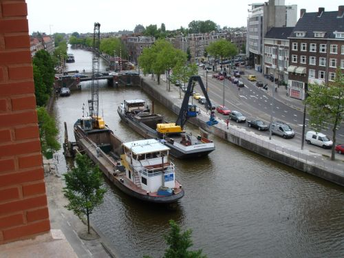 Dredging the Schinkel.