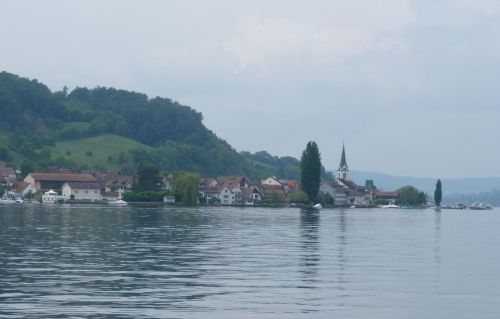 Lake Constance. The water is flat, and so are most of the cycleways.