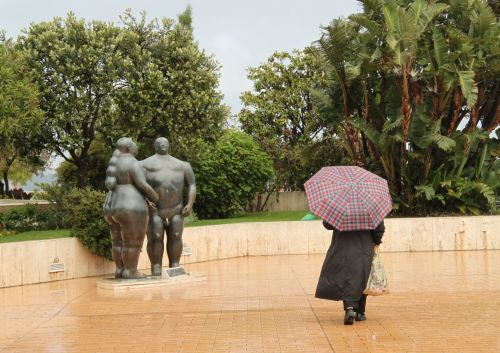 Botero, Adam and Eve