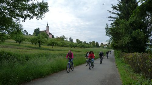 As the weather improved, Europe's most popular cycle route started to live up to its reputation.
