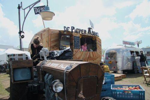 The Pieper (Spud) truck.
