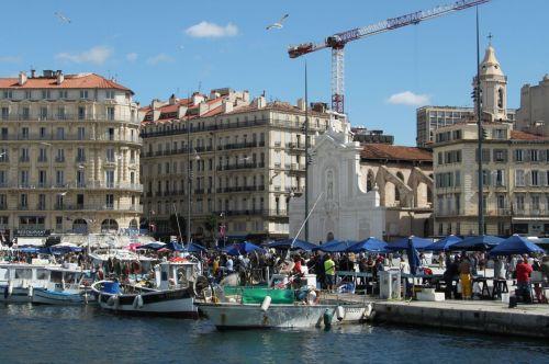 The Vieux Port, Marseilles.