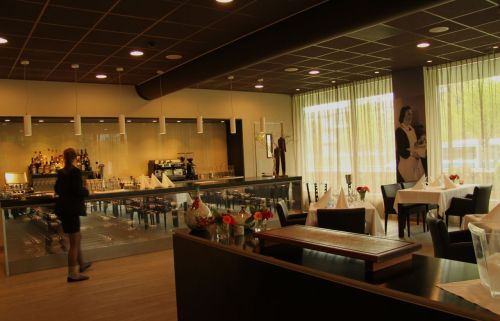 Smart and small - le Debut Restaurant at the Amsterdam Hotelschool.