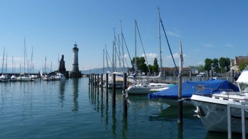 Lindau looks quiet from this angle, but...