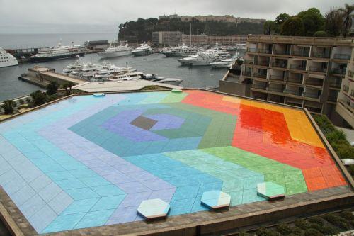 Vasarely's Hexagon 1979