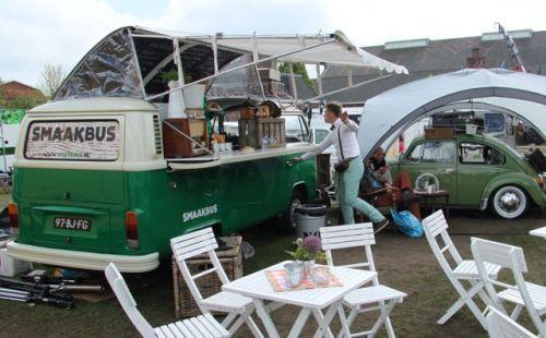 The VW Smaakbus (Taste bus).