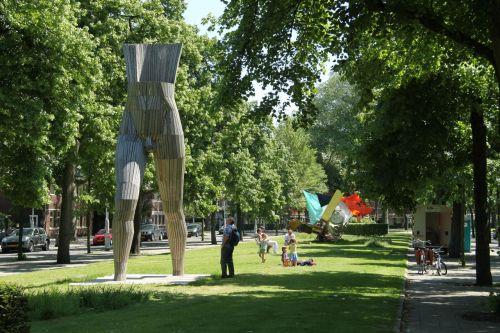 Art Zuid, Apollolaan, Amsterdam Zuid