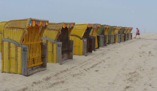 Neither were the beach huts.
