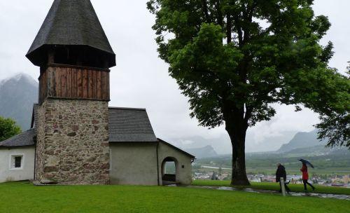 The Kapelle St Memerta, built 1446, renovated 1967-68.