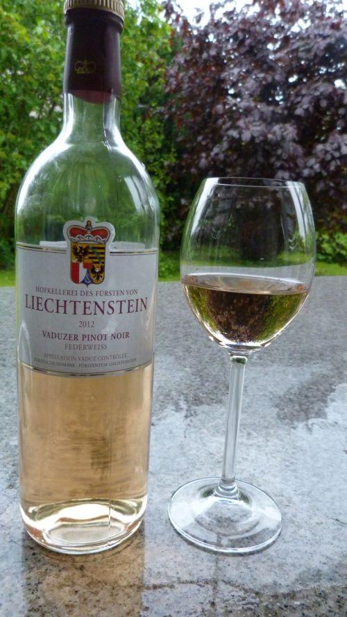 Here's to Liechtenstein. Still half a bottle left, I'm pleased to see.
