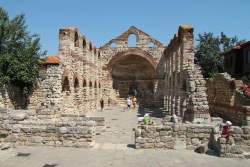 Church of St Sophia - 5th or 6th century.