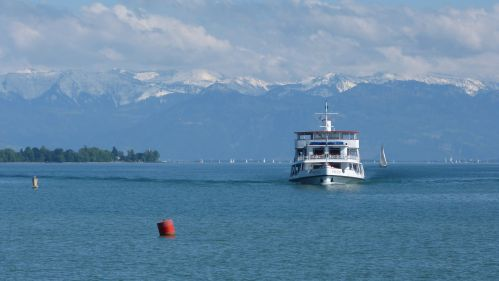 Lake Constance - the foreground of the ride.