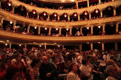 One of the world's great opera theatres.