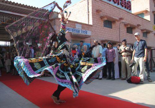 Whirling in Jodhpur.