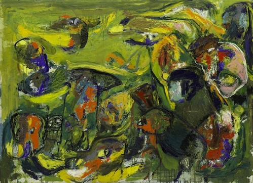 CoBrA artist Asger Jorn's Green Ballet.
