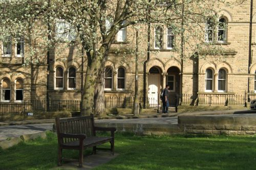 The former Saltaire Hospital, now residences.