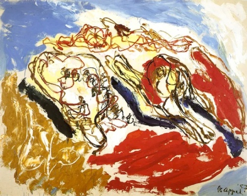 Karel Appel - Beach Life