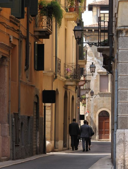 Walk anywhere in the busy shopping strips, glance left or right and you'll find side alleys like this.