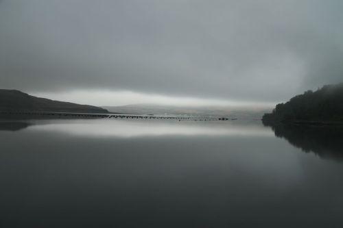Not much happening in Loch Spelve.