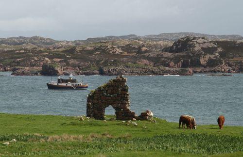 The Glen Tarsan, between Iona and Mull.