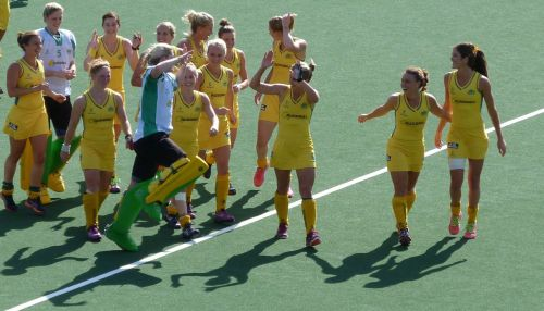 It's nail-biting stuff, but eventually the Aussies scrape through to the final after a penalty shootout. Great goalkeeping saves them.