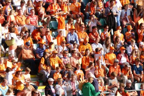 The Orange fans are delighted.