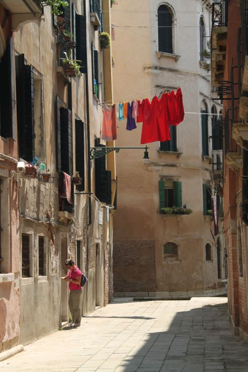 Red washing, Venezia